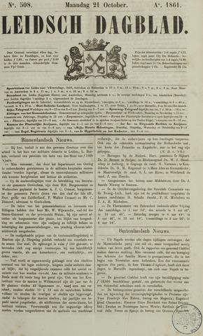 Leidsch Dagblad 1861-10-21