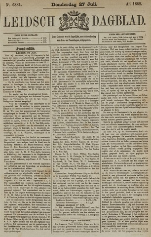 Leidsch Dagblad 1882-07-27