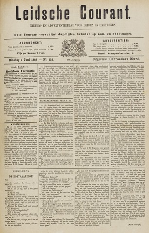 Leydse Courant 1885-06-09