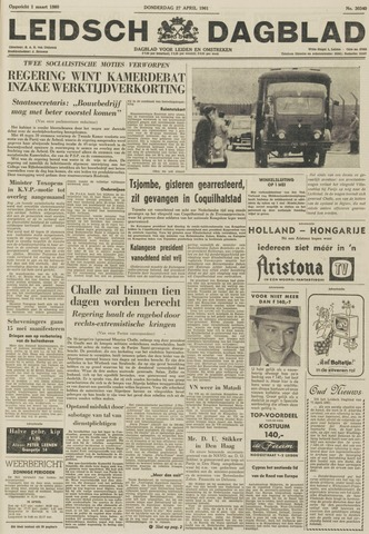 Leidsch Dagblad 1961-04-27