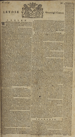 Leydse Courant 1759-01-03