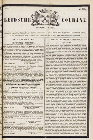 Leydse Courant 1883-05-31