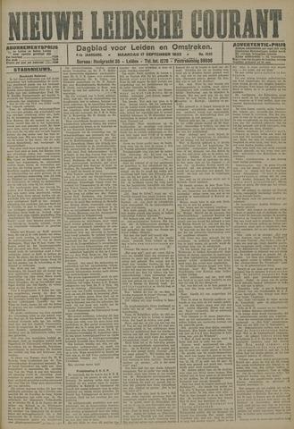 Nieuwe Leidsche Courant 1923-09-17