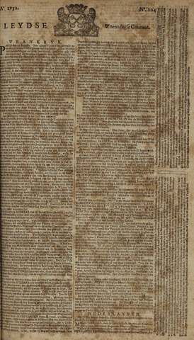 Leydse Courant 1752-08-30