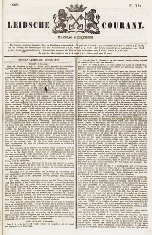 Leydse Courant 1869-12-06