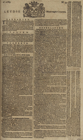 Leydse Courant 1765-04-15