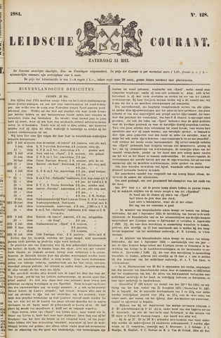 Leydse Courant 1884-05-31
