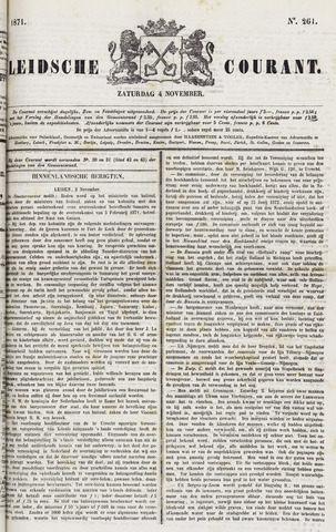 Leydse Courant 1871-11-04