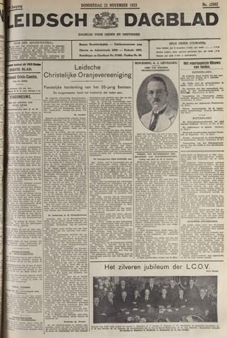 Leidsch Dagblad 1933-11-23