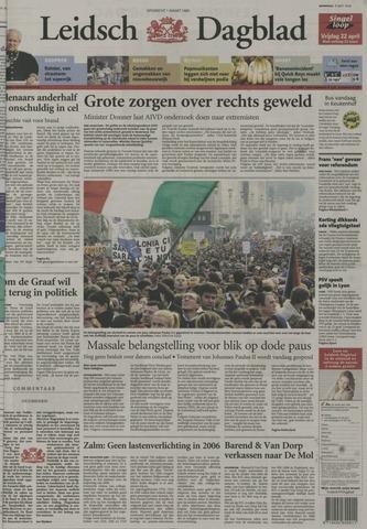 Leidsch Dagblad 2005-04-06