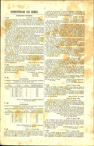 Handelingen van de Raad 1886-01-28