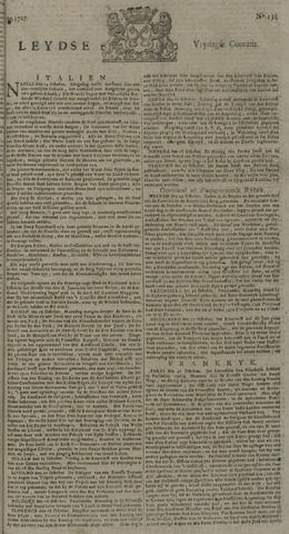 Leydse Courant 1727-11-07