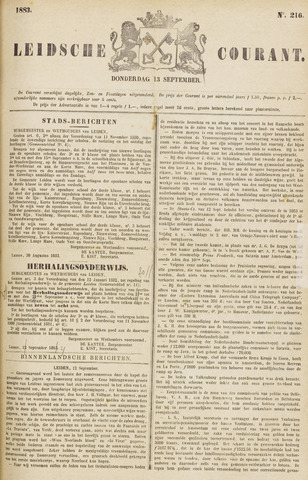 Leydse Courant 1883-09-13