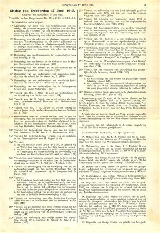 Handelingen van de Raad 1915-06-17