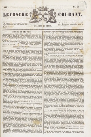 Leydse Courant 1865-04-24