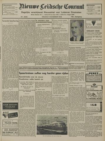 Nieuwe Leidsche Courant 1938-11-11