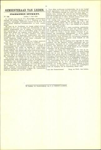 Handelingen van de Raad 1938-07-07