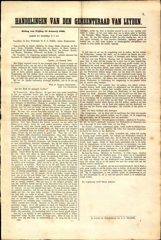 Handelingen van de Raad 1866-01-12
