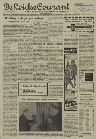 Leidse Courant 1961-01-06