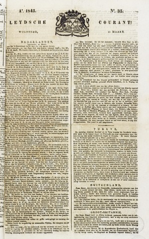 Leydse Courant 1843-03-22