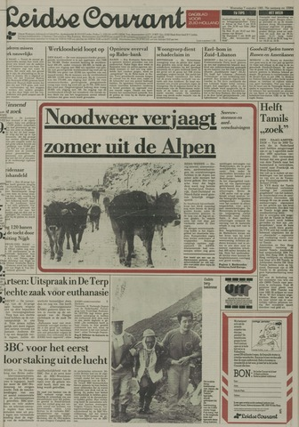 Leidse Courant 1985-08-07