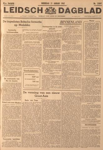 Leidsch Dagblad 1942-01-21