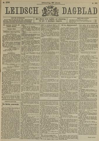 Leidsch Dagblad 1911-06-27