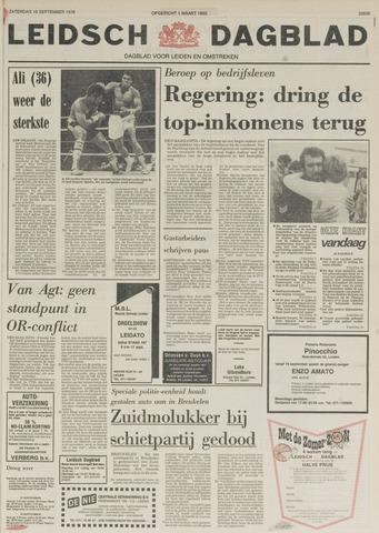 Leidsch Dagblad 1978-09-16