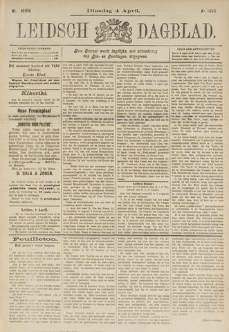 Leidsch Dagblad 1893-04-04