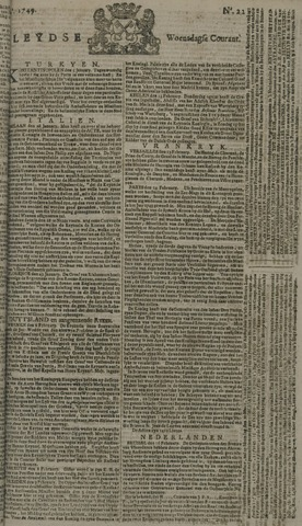Leydse Courant 1749-02-19