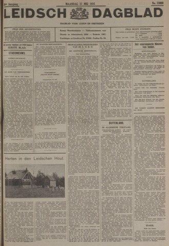 Leidsch Dagblad 1935-05-27