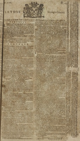 Leydse Courant 1771-02-01
