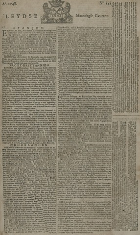 Leydse Courant 1748-11-25
