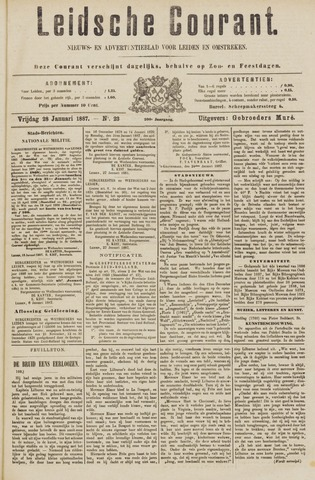 Leydse Courant 1887-01-28