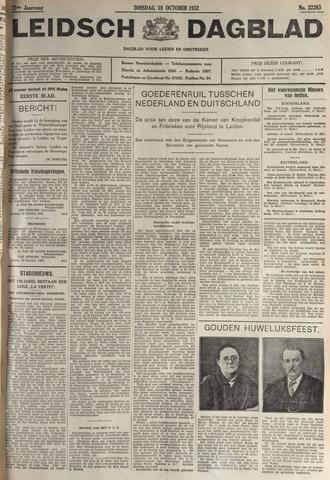 Leidsch Dagblad 1932-10-18