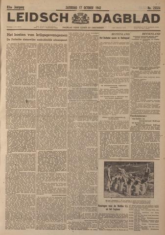 Leidsch Dagblad 1942-10-17