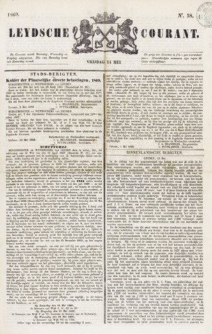Leydse Courant 1869-05-14