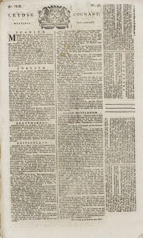 Leydse Courant 1818-03-25