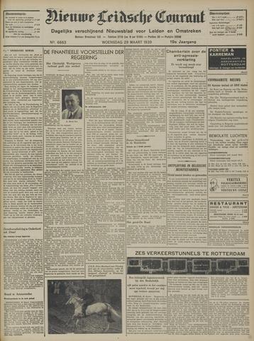 Nieuwe Leidsche Courant 1939-03-29
