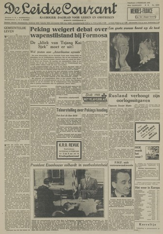 Leidse Courant 1955-02-04