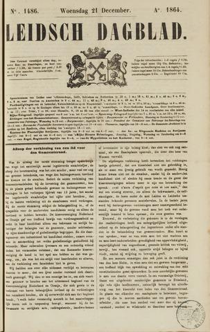 Leidsch Dagblad 1864-12-21
