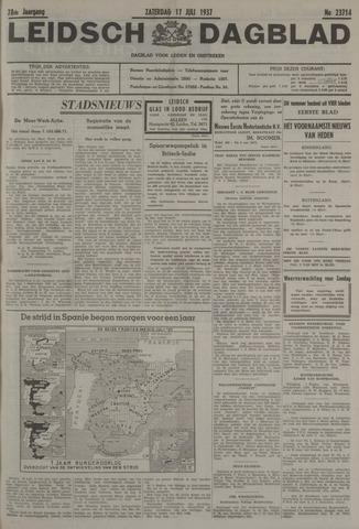 Leidsch Dagblad 1937-07-17