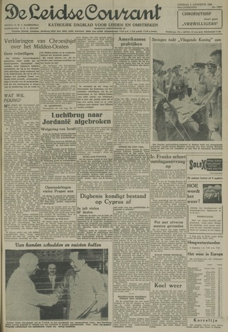 Leidse Courant 1958-08-05