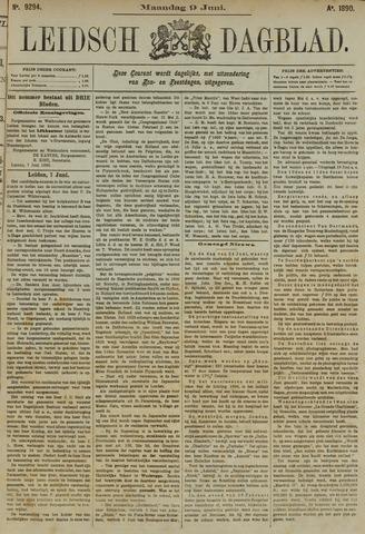Leidsch Dagblad 1890-06-09