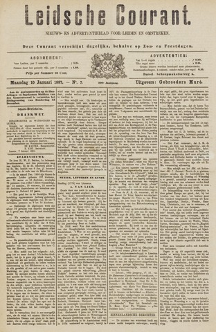 Leydse Courant 1887-01-10