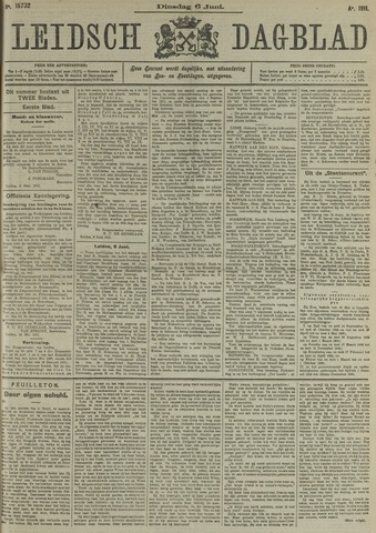 Leidsch Dagblad 1911-06-06