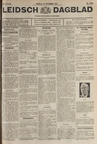 Leidsch Dagblad 1933-09-12