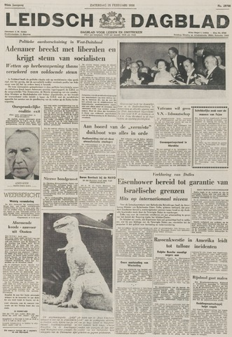 Leidsch Dagblad 1956-02-25