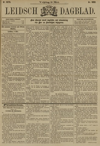 Leidsch Dagblad 1890-05-09