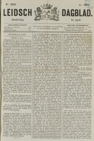 Leidsch Dagblad 1869-04-15